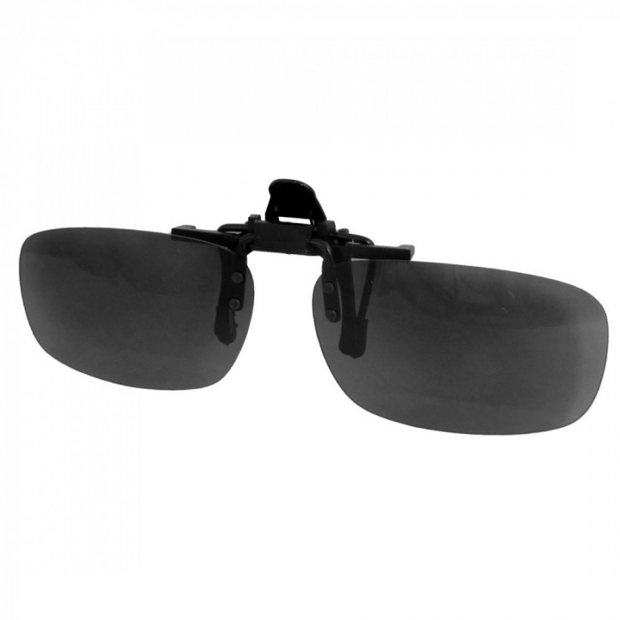 Ochelari de soare clip-on, flip-up verde inchis