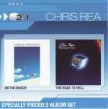 Chris Rea - On The Beach/The Road To Hell   2 × CD, Album, Compilation