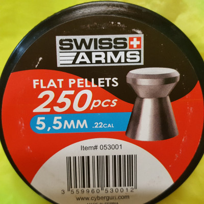 500 ALICE PELETE CAPSE SWISS ARMS CAP PLAT 5.5 MM foto