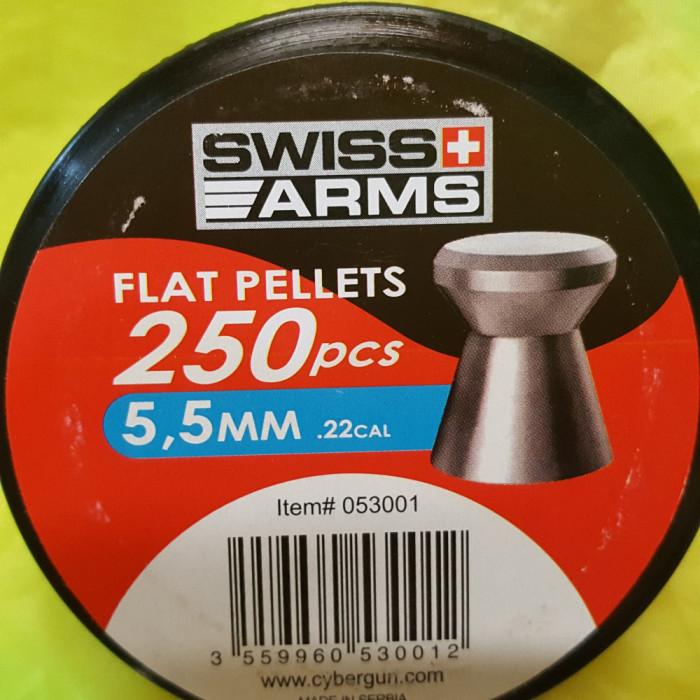 500 ALICE PELETE CAPSE SWISS ARMS CAP PLAT 5.5 MM