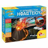 Set joc creativ, model puterea vulcanului, 33x8x27 cm