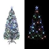 Cumpara ieftin Brad de Crăciun artificial cu suport / LED, 180 cm, 220 ramuri