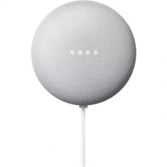 Boxa portabila Google Nest Mini 2, Bluetooth, Chromecast integrat, Wi-Fi (Alb)