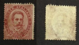 Italy 1879 King Umberto I 10C Mi.38A stained MNG AM.430