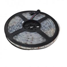 Banda LED submersibila, SMD 5050 RGB, 60 LED m, IP68 (Waterproof)