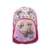 Ghiozdan gimnaziu Pigna Fly Butterfly violet-roz MCRS1871-6