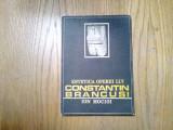 Estetica Operei lui CONSTANTIN BRANCUSI -  Ion Mocioi -   1987, 201 p.