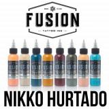 Set Fusion Gama Nikko Hurtado 8 tusuri 30 ml