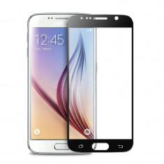 Folie Sticla Samsung Galaxy S6 Flippy Full Face Negru