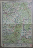 Brasov-Fagaras-Odorhei-Sf. Gheorghe-Miercurea Ciucului// harta lito 1927