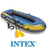 Barca Gonflabila Challenger 2 Intex ,vasle + pompa inclusa, 68367