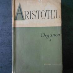 ARISTOTEL - ORGANON volumul 2