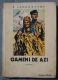 T. Sâdâcbecov - Oameni de azi (coperta de A. Sirin)
