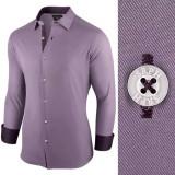 Camasa pentru barbati violet regular fit casual Business Class Ultra