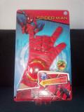 Manusa Spiderman cu lansator discuri