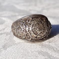 INEL argint INDIA 1900 RAJASTHAN de efect VECHI manopera SPLENDIDA superb RAR