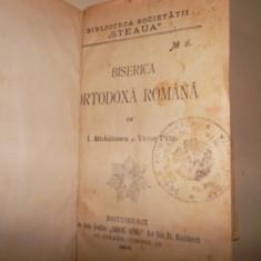 BISERICA ORTODOXA ROMANA DE I. MICHALCESCU, VICTOR PUIU