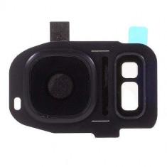 Ornament Camera Samsung Galaxy S7 G930 / S7 edge G935 Negru