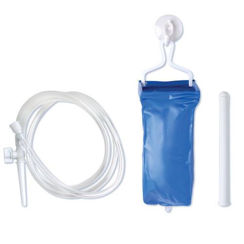 Dusuri irigatoare - Irigator pentru Dus Anal Vaginal Clisma Sistem Unisex cu Prindere pe Perete