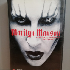 Marilyn Manson - Guns,God & Goverment World Tour (2002/Eagle) - DVD NOU/SIGILAT, universal records