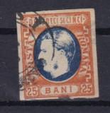 1869 L.P. 28 stampilat 25 lei