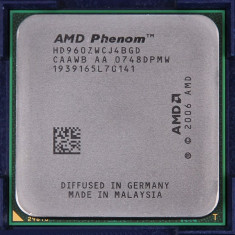 Procesor AMD Phenom II x 4 9600 Quad Core 2.3 GHz socket AM2 / AM2+  si Pasta