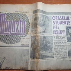 magazin 24 noiembrie 1962-oraselul studentesc de la grozavesti