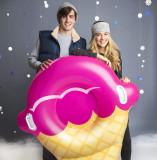 Colac gonflabil - Pink ice cream cone | BigMouth Inc