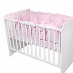 Set protectii laterale pentru pat 4 piese, 60 x 120 cm, Pink