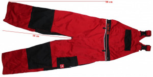 Pantaloni salopeta lucru cu pieptar bretele Engelbert Strauss copii 146-152 cm