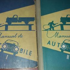 MANUAL DE AUTOMOBILE VOL I,II 1960