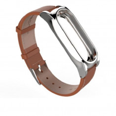 Curea piele Tech-Protect Herms Xiaomi Mi Band 3/4 Brown