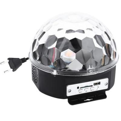 Glob Disco Cu Boxa Laser Club Cu Telecomanda, Bluetooth, Redare Audio Mp3 foto