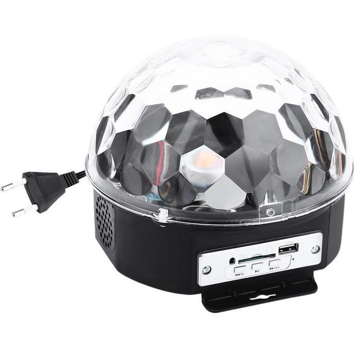 Glob Disco Cu Boxa Laser Club Cu Telecomanda, Bluetooth, Redare Audio Mp3
