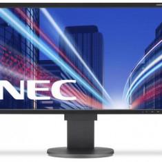 Monitor IPS LED Nec 21.5inch EA224WMi, Full HD (1920 x 1080), VGA, DVI, HDMI, DisplayPort, 14 ms (Negru)