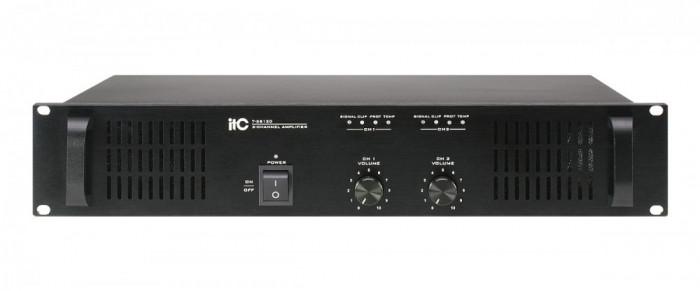Amplificator de putere cu 2 canale, 2×120W,T-2S120