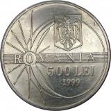 România, 500 lei 1999 * cod 77, Aluminiu