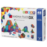 Magna-Tiles Clear Colors set magnetic - 48 piese