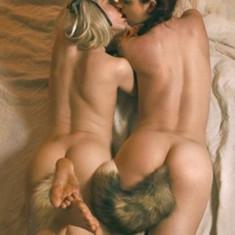 Dop Anal Plug Coada Animal Vulpe Fox Adult Sex Play Silicone Tail Artificiala