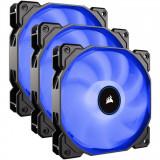 Cooler carcasa AF120 LED Low Noise Cooling Fan, 1500 RPM, Triple Pack - Blue, Corsair