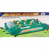 Joc Fotbal de masa cu Toate Accesoriile Tije Fata-Spate Action Soccer, Masa foosball