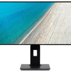 Monitor IPS LED Acer 27inch PE270K, UHD (3840 x 2160), HDMI, DisplayPort, Boxe, 4 ms (Negru)