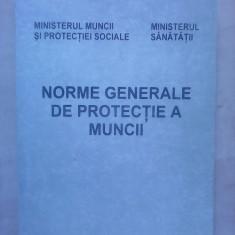 Norme generale de protectie a muncii