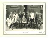 Fotografie veche cu un grup de liceeni din Liceul Paul Langevin