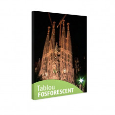 Tablou fosforescent Catedrala Sagrada Familia