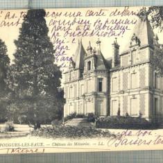 AD 378 C. P. VECHE-POUGUES-LES-EAUX-CIRC.1914-CATRE LELIA OTETELESANU, BUCURESTI