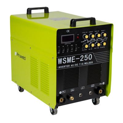 ProWELD WSME-250 AC/DC (400V), invertor sudare TIG, sudura aluminiu foto