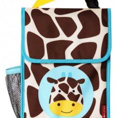Saculet pentru pranz Zoo Skip Hop - Girafa