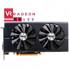 OFERTA! Placa Video Sapphire Radeon RX 480 NITRO + OC 8GB GDDR5 256-bit Lite, PCI Express, 8 GB, AMD