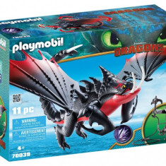 Playmobil Dragons - Deathgripper si Grimmel